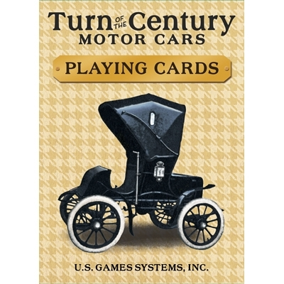 Turn of the Century Motor Cars Playing Card / На рубеже веков (автомобили)